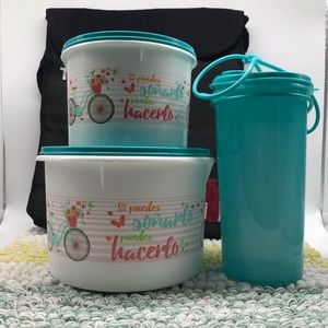 Set of containers Tupperware